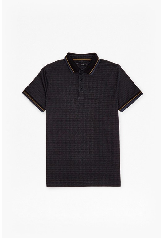 Tribal Dot Marlon Polo Shirt