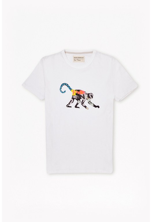 Monkey Crew Neck T-Shirt