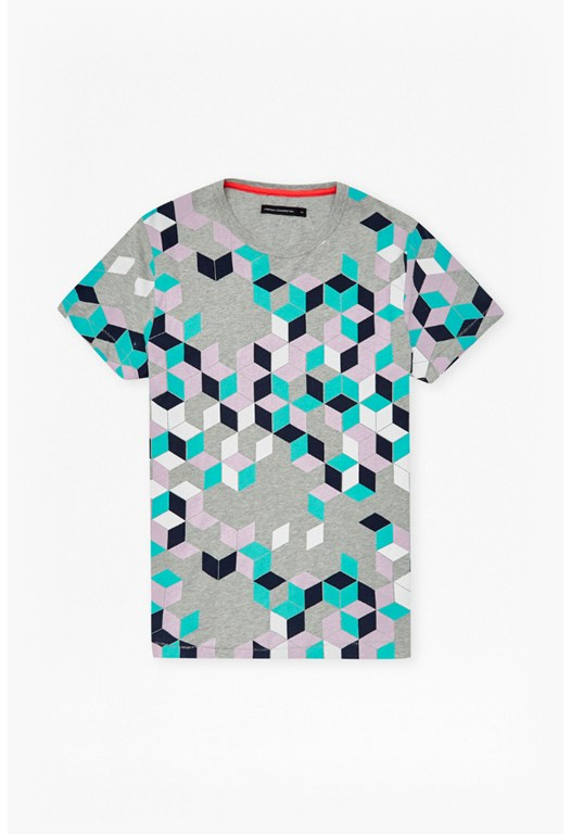 Super Arri Geo Printed T-Shirt