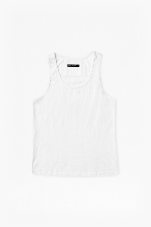 Complete the Look Basic Slub Vest Top
