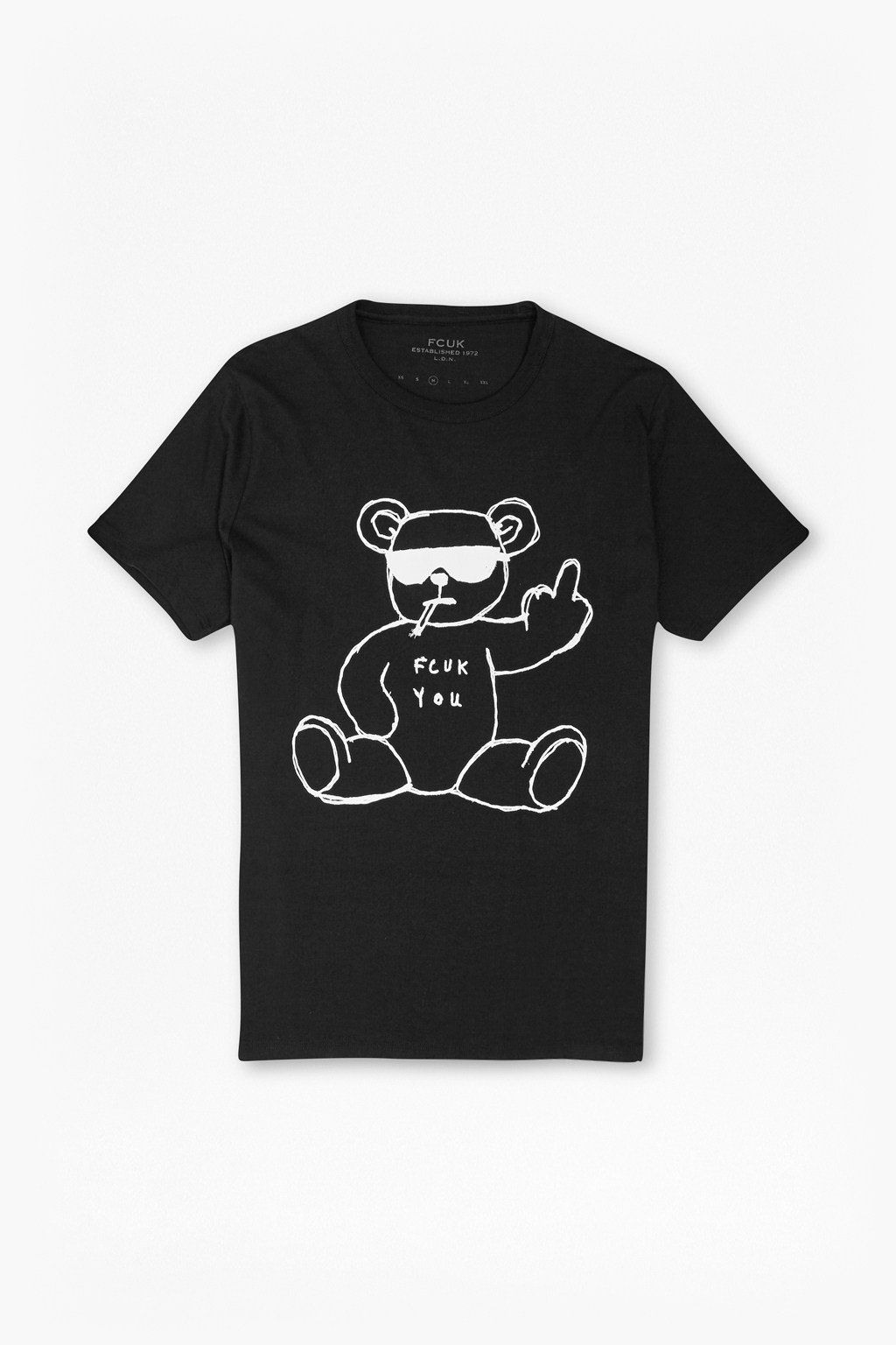 Rude bear graphic t shirt tshirts polo shirts french for T shirt graphics for sale