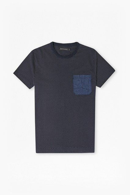Dunite Dot Chest Pocket T-Shirt