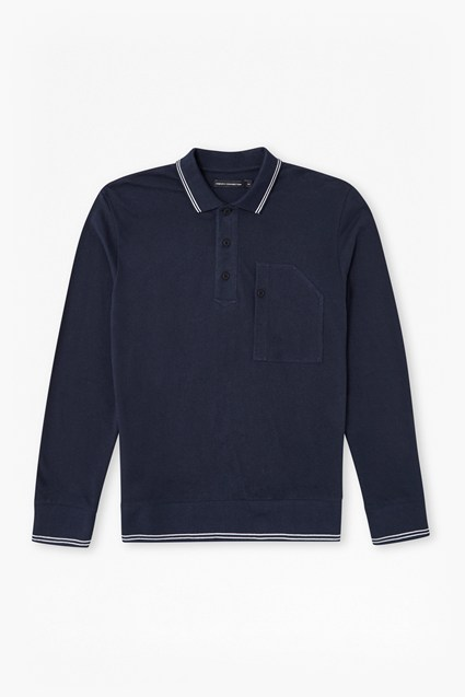 Piston Long Sleeve Polo Shirt