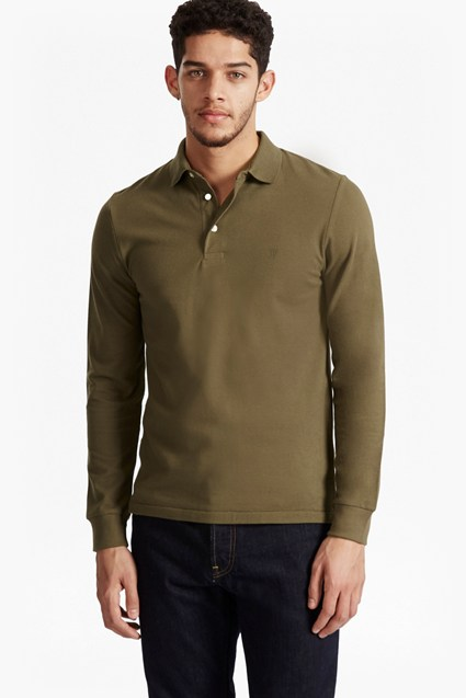 Brunswick Long Sleeve Polo Shirt