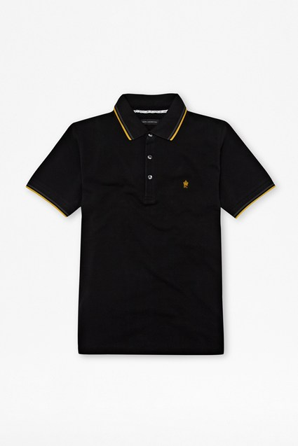 Pique And Tipping Polo Tee
