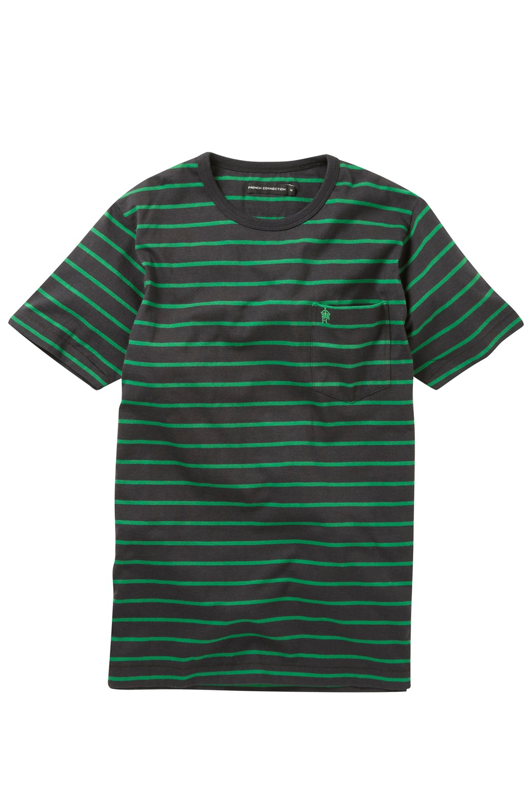 nautical stripe t shirt mens t shirts french connection