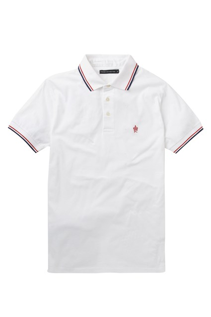 Sporty Cotton FC Tipped Polo