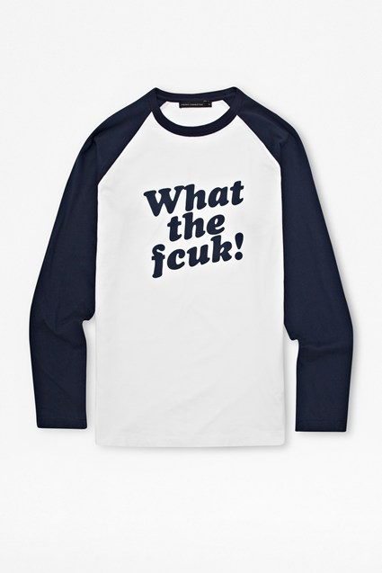 What The FCUK! Raglan T-shirt