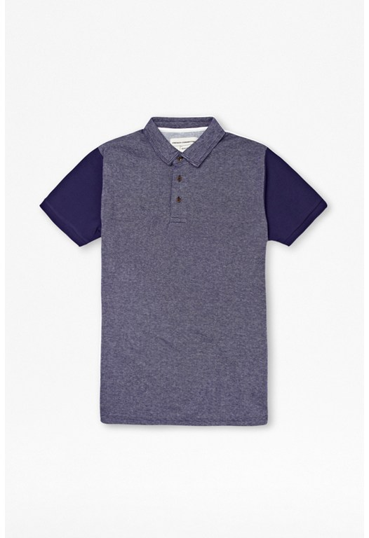Jaquard Cotton Polo Shirt