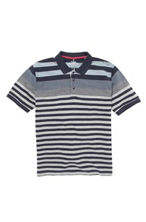 Chimpanzy Striped Polo Shirt