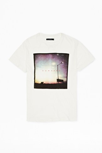 Nowhere Printed T-Shirt