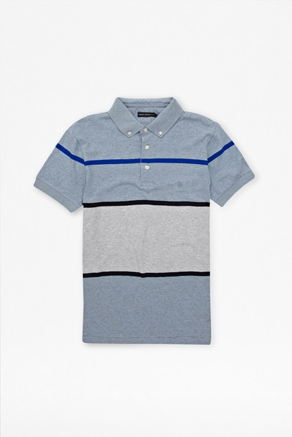 Marlon Button-Down Polo Shirt