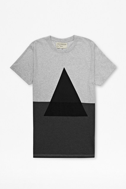 Engineered Colour Block T-shirt