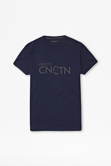 C-Disconnected Cotton T-Shirt