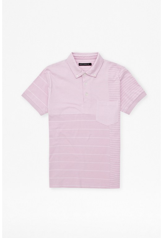 Battle Stripes Polo Shirt