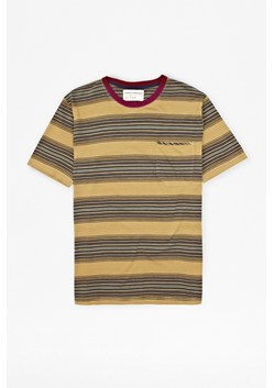 Loose Weave Striped T-Shirt
