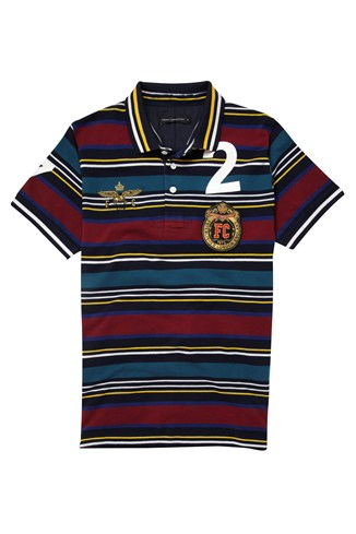 Mcarthur Striped Polo Shirt