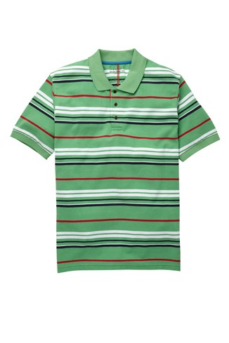 Axle Stripe Polo Shirt