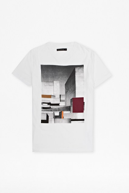 Industrial Graphic Print T-Shirt