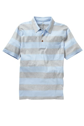 Blinding Stripe Polo Tee
