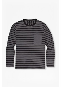 Double Stripe Long-Sleeved T-Shirt