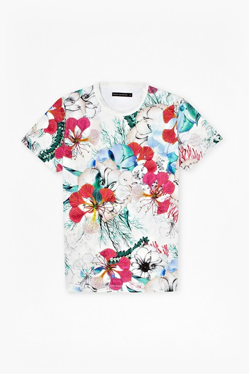 floral reef t-shirt