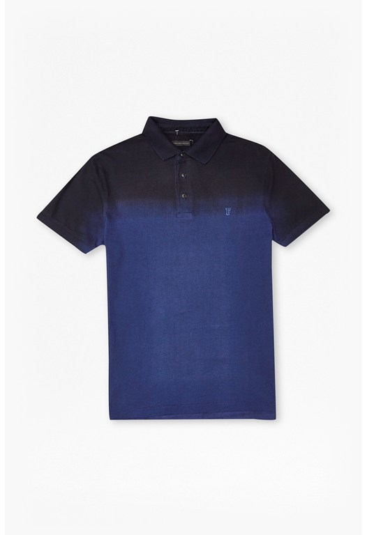 Wembley Dip Dye Polo Shirt