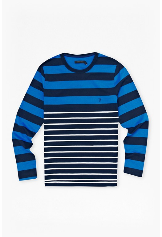 Craven Stripe Long Sleeve T-Shirt