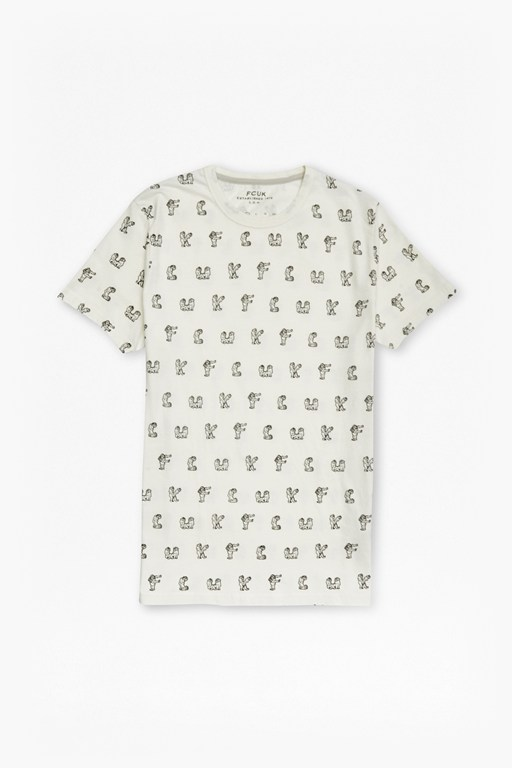 monkey moves cotton t-shirt