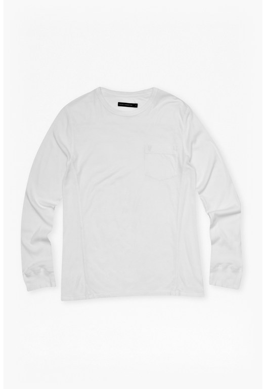 Cotton and Modal Long Sleeve T-Shirt