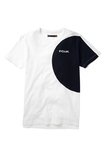 Fcuk Round The Track Logo T-Shirt