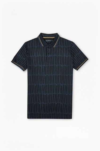 Tribal Stripe Marlon Polo Shirt