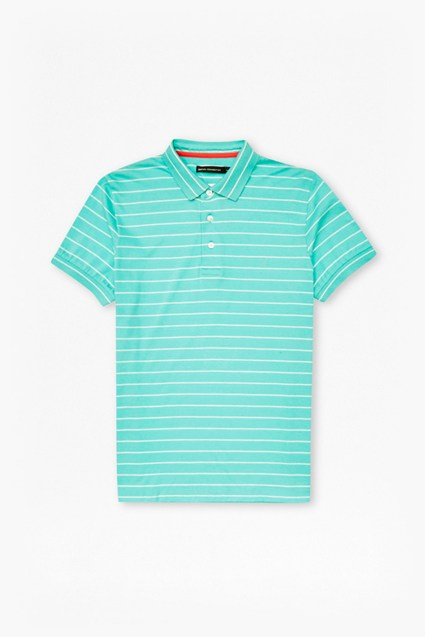 Trailer Stripe Polo Shirt