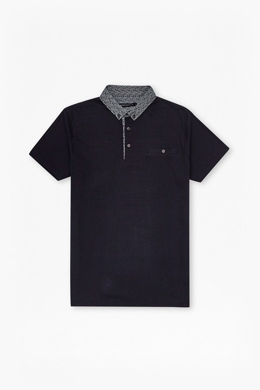 ditzy collar polo shirt