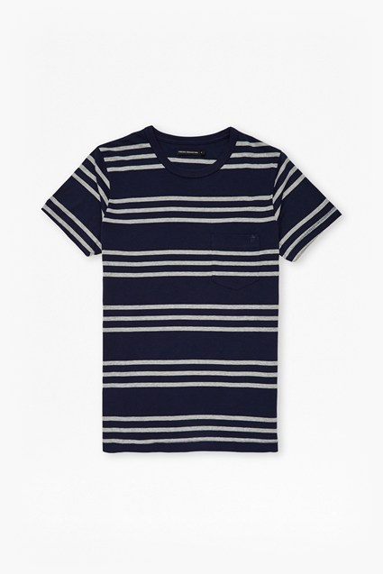 Triple Stripe Pocket T-Shirt