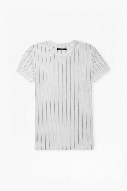 Complete the Look Skyray Stripe Contrast Detail T-Shirt