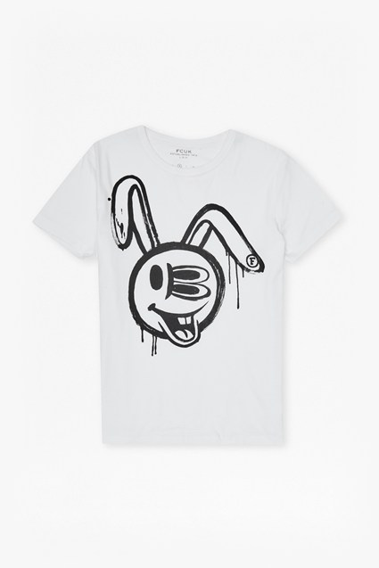 Bunny Fcuked Graphic T-Shirt