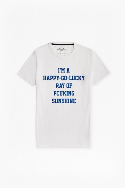 Ray Of Fcuking Sunshine Slogan T-Shirt