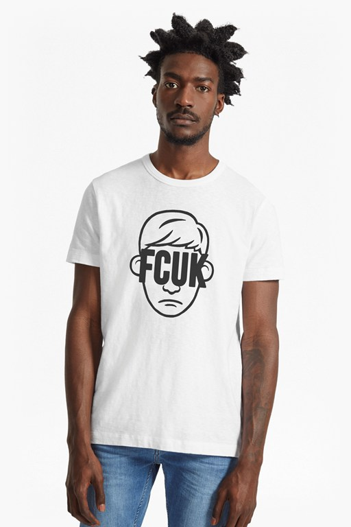 fcuk face slim fit t-shirt