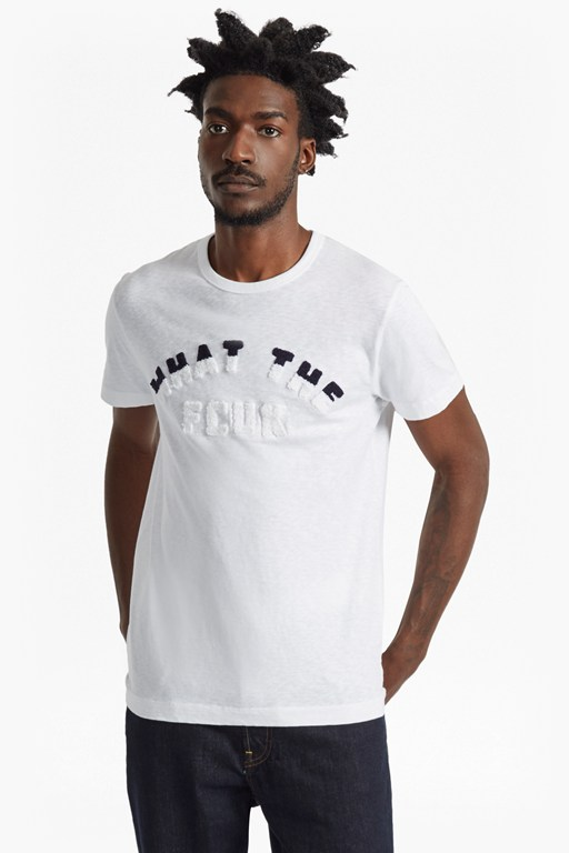 what the fcuk slub slim fit t-shirt