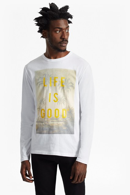 Life Is Good Long Sleeve Top