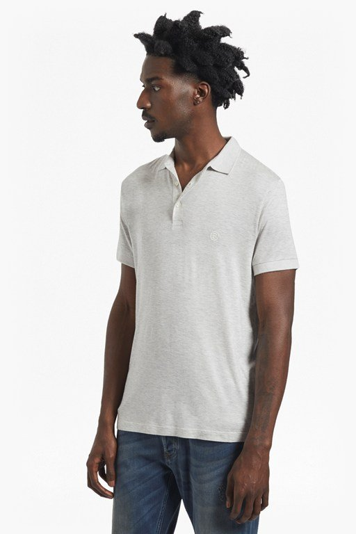 summer modal jersey polo shirt