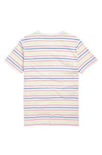 Multi Fluro Striped T-Shirt