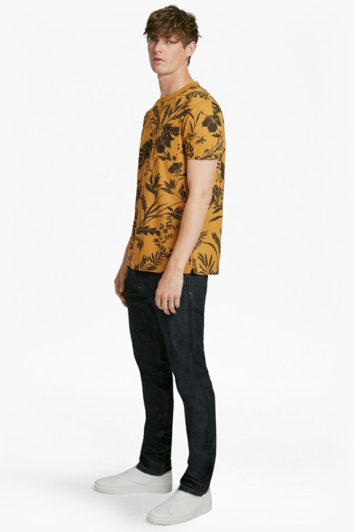 overdyed fumio floral t-shirt