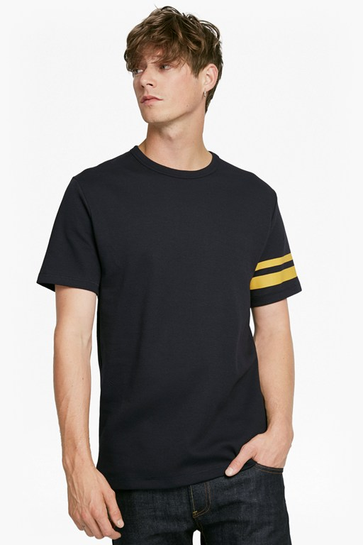 track stripe t-shirt