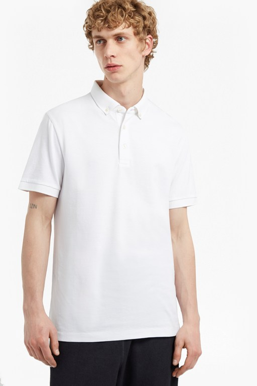 Complete the Look Parched Textured Pique Polo Shirt