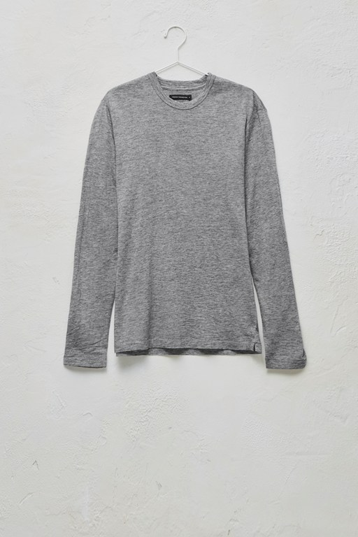 wool jersey long sleeve t-shirt