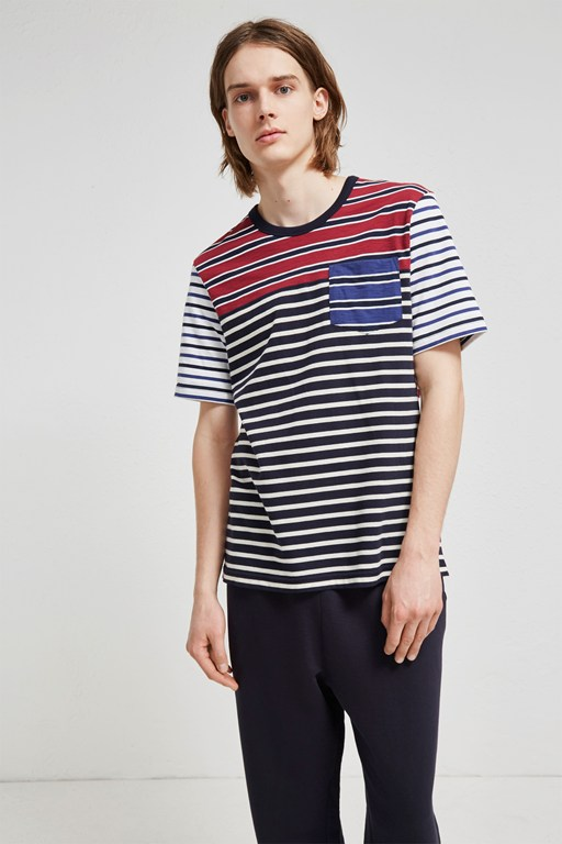 jumble stripe t-shirt