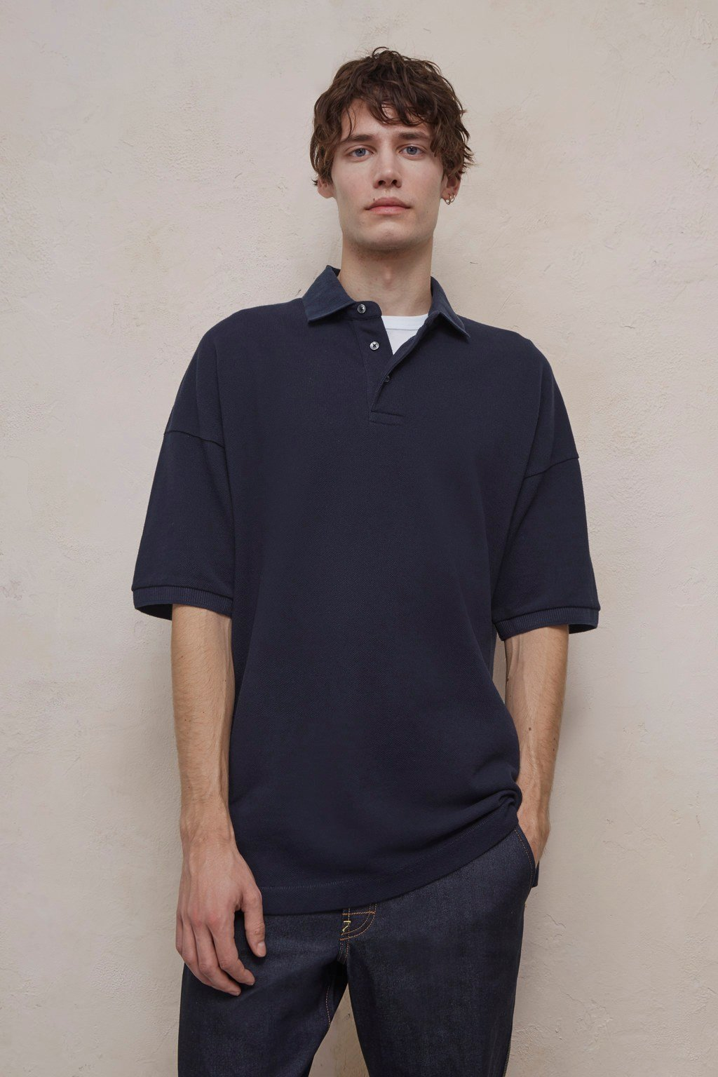 5f5a4df0 Oversized Polo Shirt | Dresses | French Connection