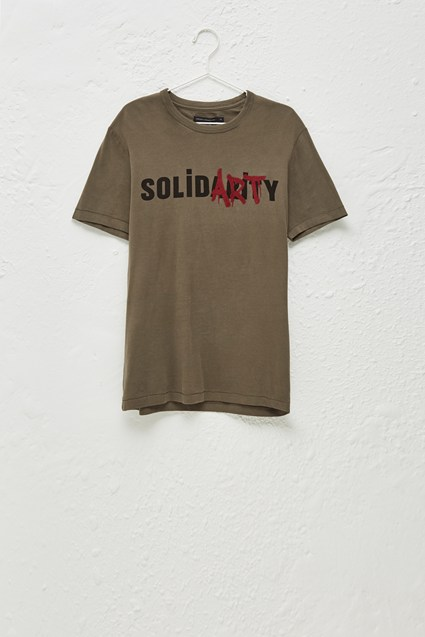 Solidarity Slogan T-Shirt